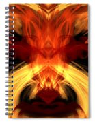 Abstract Five Spiral Notebook