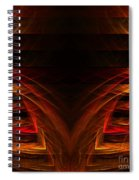 Abstract Forty-eight Spiral Notebook