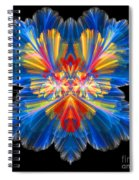 Abstract Forty-nine Spiral Notebook