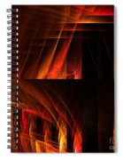 Abstract Forty-seven Spiral Notebook