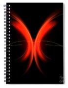 Abstract Forty-two Spiral Notebook