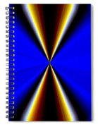 Abstract Fusion 60 Spiral Notebook