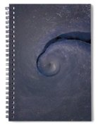 Abstract Ice Spiral Notebook