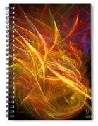 Abstract Ninety-nine Spiral Notebook