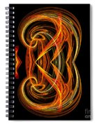 Abstract Ninety-one Spiral Notebook