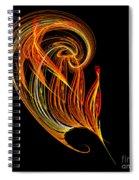 Abstract Ninety-three Spiral Notebook