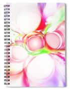 Abstract Of Circle  Spiral Notebook