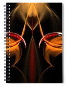 Abstract Seven Spiral Notebook