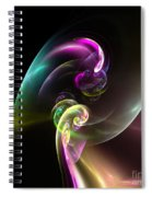 Abstract Seventy Spiral Notebook