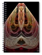 Abstract Seventy-nine Spiral Notebook