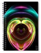 Abstract Seventy-one Spiral Notebook