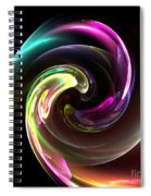 Abstract Seventy-three Spiral Notebook