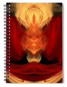 Abstract Six Spiral Notebook