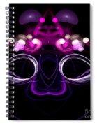 Abstract Sixteen Spiral Notebook