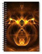 Abstract Sixty-five Spiral Notebook
