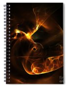 Abstract Sixty-nine Spiral Notebook