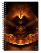 Abstract Sixty-six Spiral Notebook