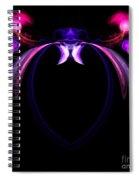 Abstract Ten Spiral Notebook