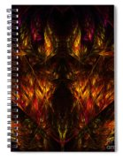 Abstract Thirty-nine Spiral Notebook