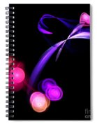 Abstract Twelve Spiral Notebook