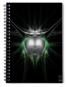Abstract Twenty-eight Spiral Notebook