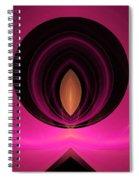Abstract Twenty-five Spiral Notebook