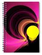 Abstract Twenty-four Spiral Notebook
