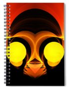 Abstract Twenty-six Spiral Notebook