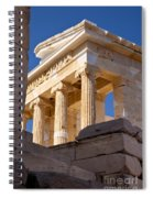Acropolis Temple Spiral Notebook
