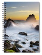 Adraga Beach Spiral Notebook