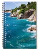 Adriatic Sea Coastline Spiral Notebook