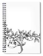Advertising Art: Wreath Spiral Notebook