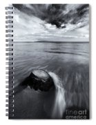 Against The Tides Spiral Notebook