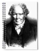 Alexander Monro IIi, Scottish Anatomist Spiral Notebook