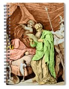 Alexander The Great And His Physician Spiral Notebook