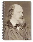 Alfred Tennyson Spiral Notebook