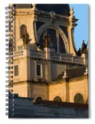 Almudena Cathedral In Madrid Spiral Notebook