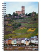 Along The Rhine River Spiral Notebook
