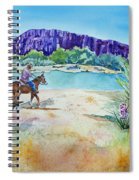 Texas - Along The Rio-grande Spiral Notebook