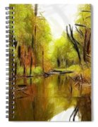 Along The River Spiral Notebook