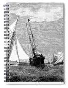 Americas Cup, 1887 Spiral Notebook