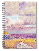 An Incoming Storm Spiral Notebook