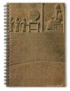 Ancient Astronomical Calendar Spiral Notebook