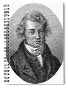 Andre Marie Ampere Spiral Notebook