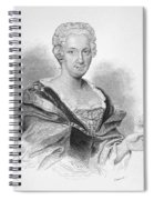 Anna Maria Sibylla Merian Spiral Notebook