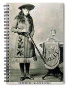 Annie Oakley (1860-1926) Spiral Notebook
