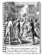 Anti-stamp Act, Boston, 1765 Spiral Notebook