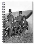 Antietam: Officials, 1862 Spiral Notebook