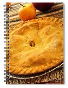 Apple Pie Spiral Notebook