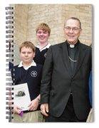 Archbishop Alex Brunett Spiral Notebook